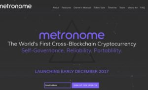 Bloq Announces Metronome: World's First Cross-Blockchain Cryptocurrency