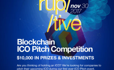 Toronto's Blockchain ICO Pitch Competition: Win 10k Cash Prizes + Business Investments